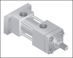 Hydraulic Tie Rod Type Cylinders, Manufacturer, Exporter, India